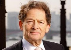 Lord Lawson of Blaby, ex- Ministro de Economia  e ex-secretrio de energia da Gr-Bretanha: