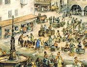 Mercado medieval, séculos XIIXIII