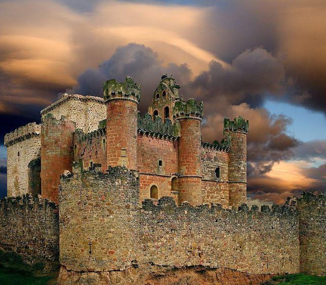 Turégano, província de Segovia, região de Castela e Leão, Espanha