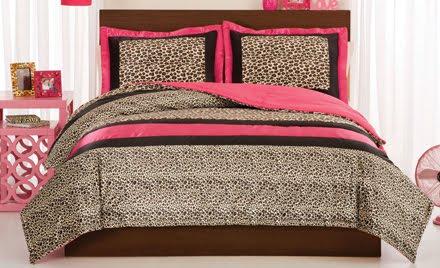 Diary lifestyles new bedding at design dazzle - Teen cheetah bedding ...