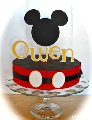 birthday party mickey mouse. Check out her Mickey Mouse