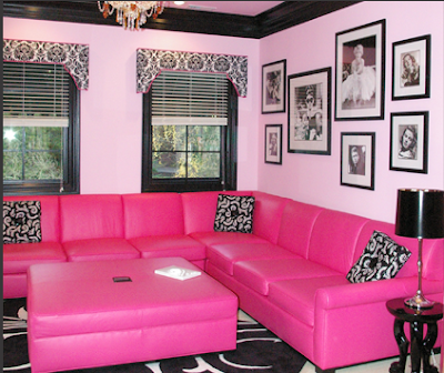 Glam - Hot Pink Teen Room