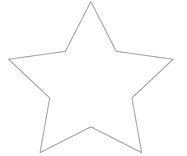 Star template to print