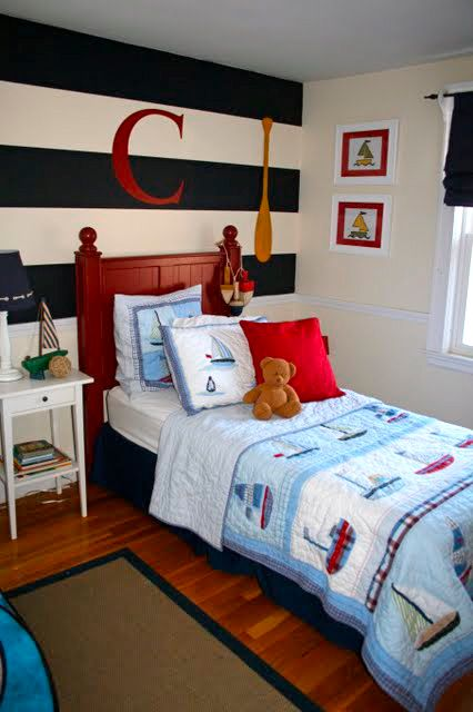 nautical theme is such a classic style for a little boy s room