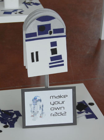 Star Wars R2D2 Craft