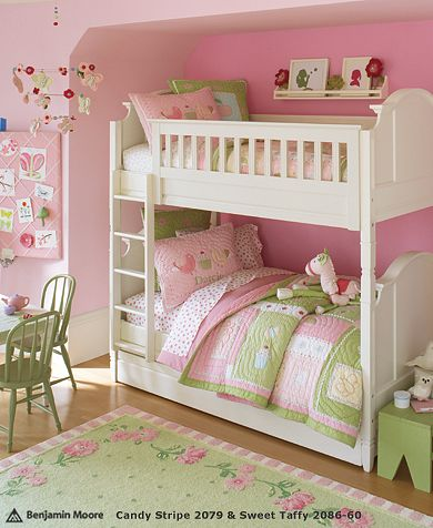 Girl 39 s rooms pink paint colors design dazzle - Paint colors for girl rooms ...