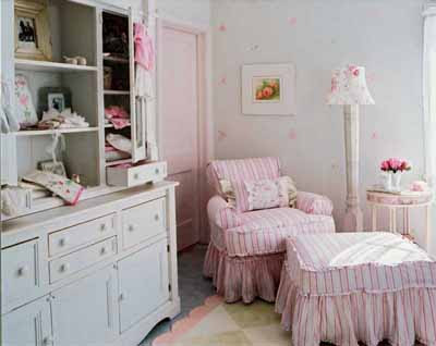 Shabby Chic How to Baby Nursery Decorating
