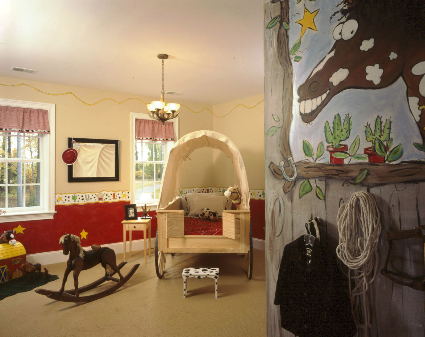 whimsical cowboy room design dazzle