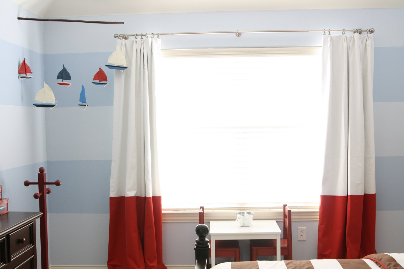Nautical Themed Kids Room : Check out Three men and a Lady for more info.