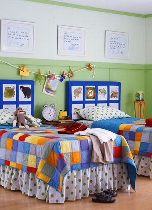 DIY Headboard For Kids and Teens - Design Dazzle