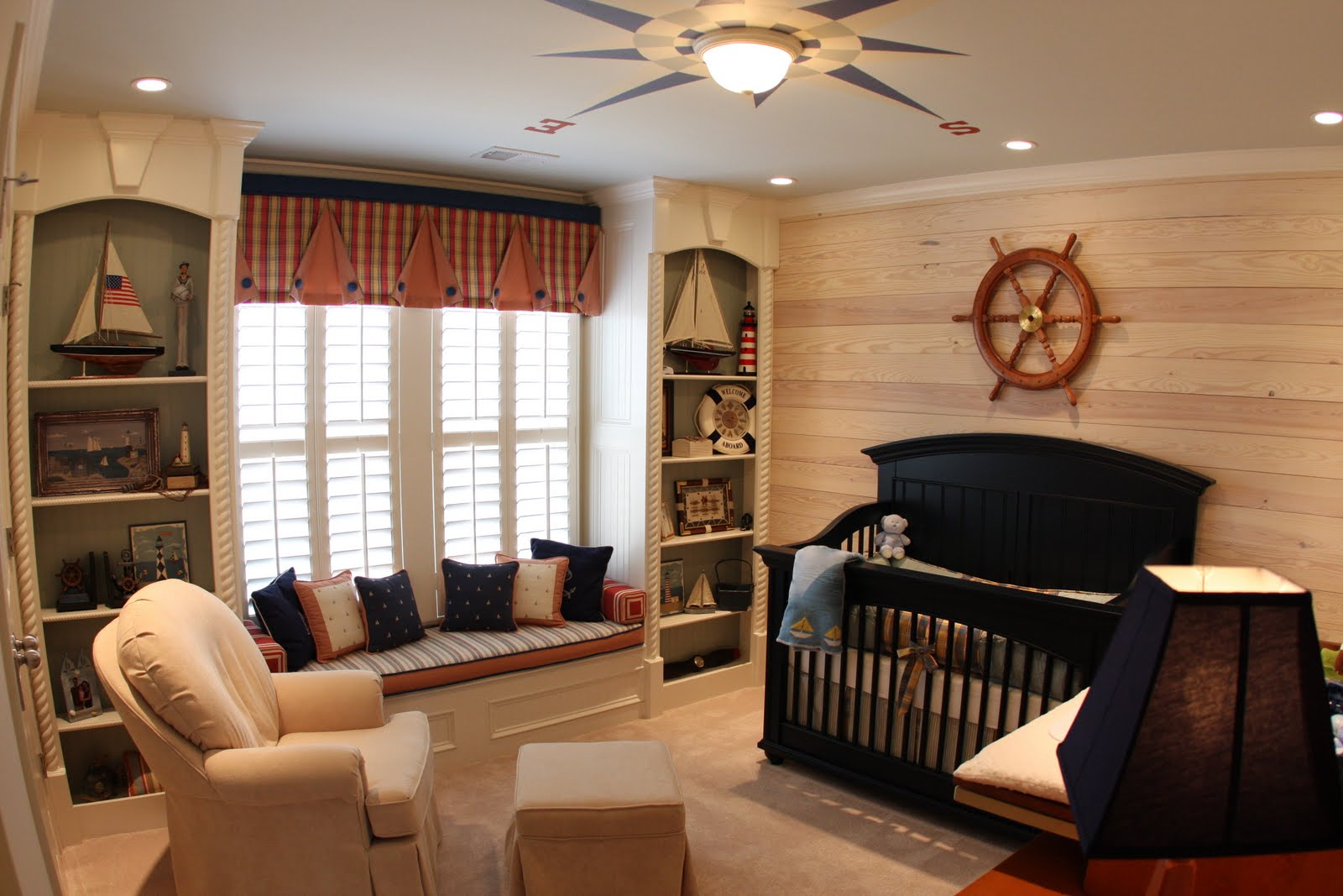 home sweet home nautical baby nursery