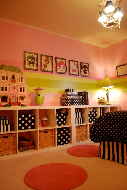 Design dazzle readers favorite girls rooms 2010 design for Polka dot bedroom designs