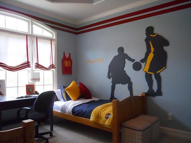 Design dazzle readers favorite boys rooms 2010 design dazzle for Boys basketball bedroom ideas