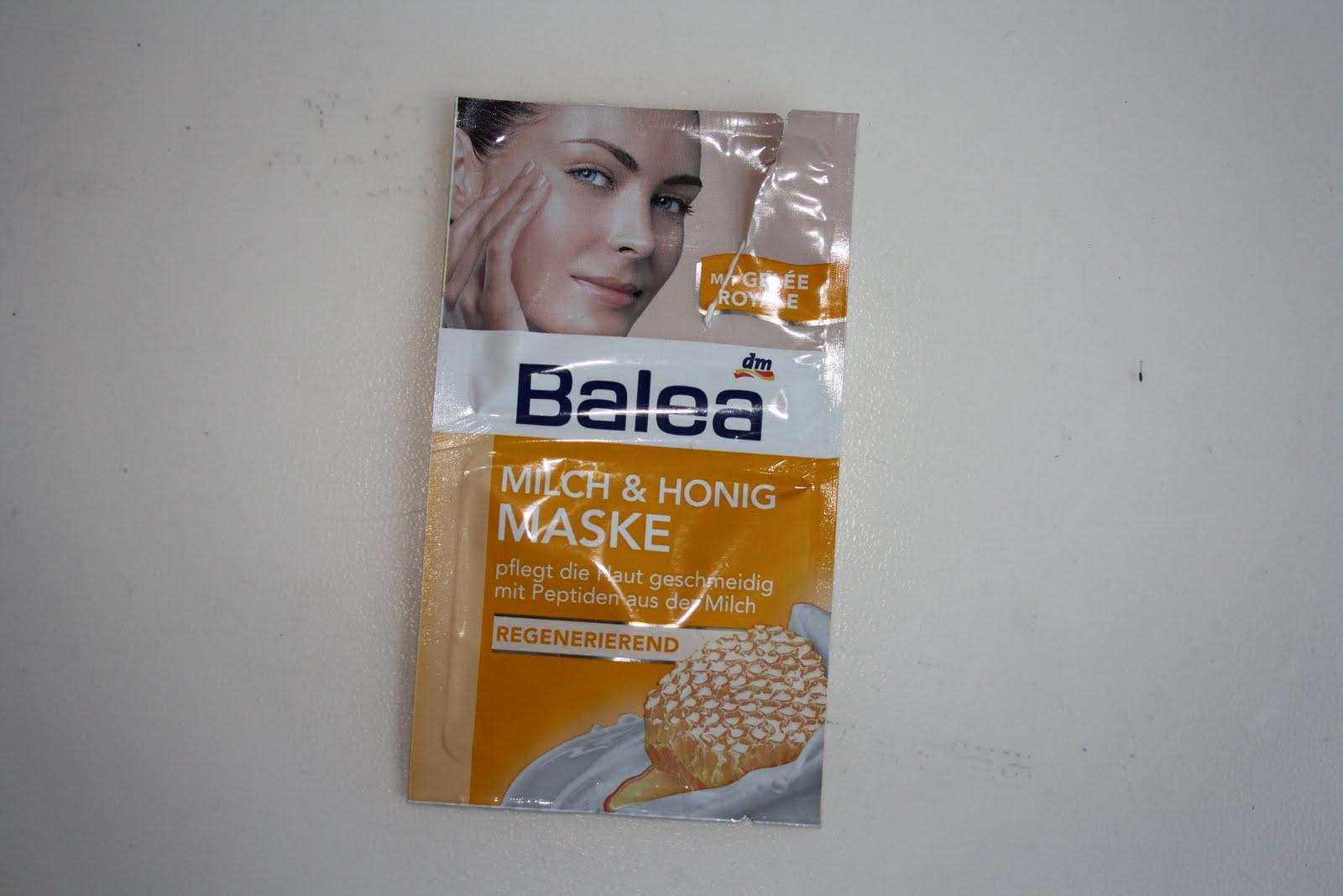 feed your life review balea milch honig maske. Black Bedroom Furniture Sets. Home Design Ideas