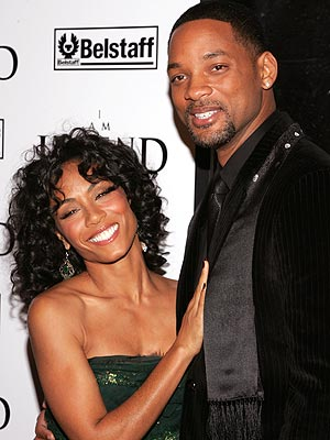 images of will smith and family. The Smith family appeared