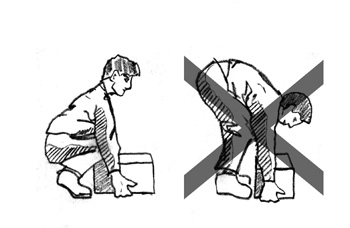 Image result for correct ways to lift heavy objects