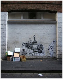 Miso street art Melbourne
