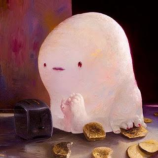 Because of Toast - Joe Sorren painting
