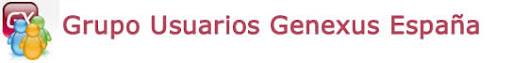Grupo Usuarios Genexus España