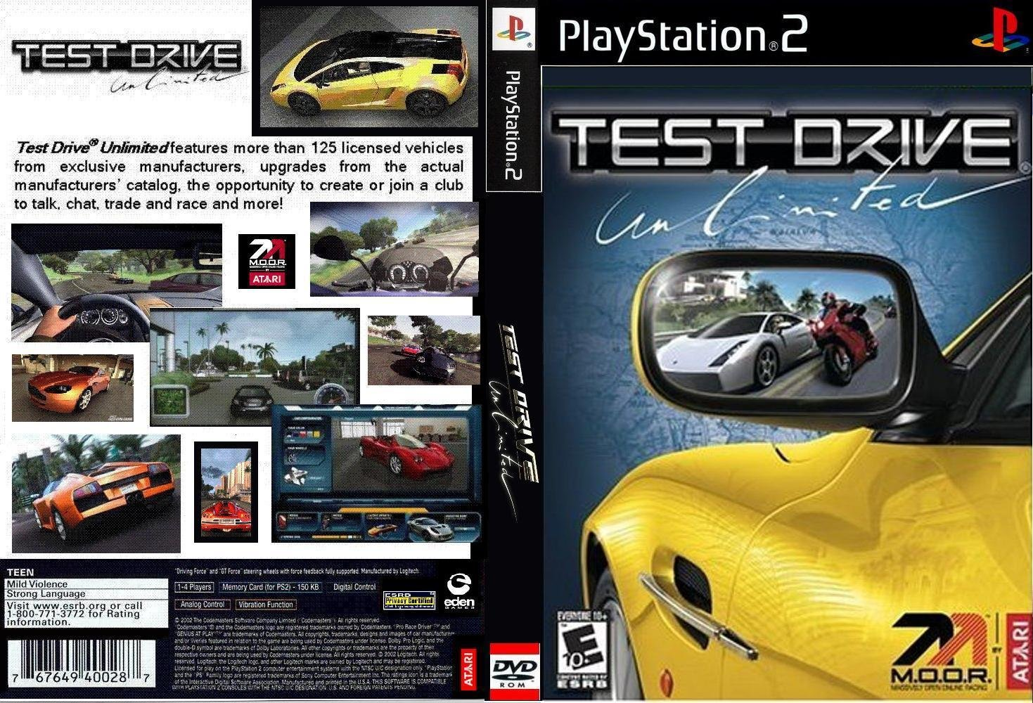 game ps2 test drive unlimited