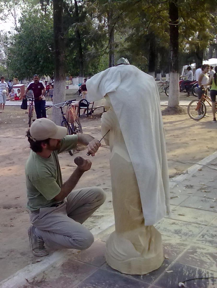 acci u00d3n territorial  1 u00ba encuentro provincial de escultores