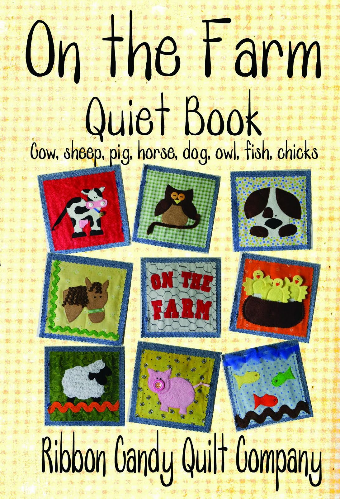 Quiet Book Cover Pattern : Ribbon candy quilt company free pattern
