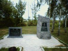 Berdichev Holocaust memorial