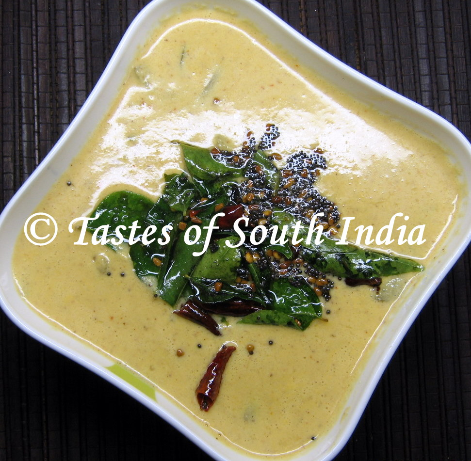 The Tastes Of South India Manga Kootan Mango Curry Posted By Srihari Rao On Thursday January 6 2011 5comments Is An Important Dish A Vishu Day It Can Be Prepared Either With Raw Or Ripe Ones When Using You Omit