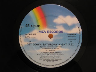 Original Sample : Oliver Chetham - Get Down Satuday Night