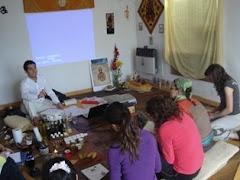 ¿que hubo en febrero en la casa de Yoga?Ayurveda & Masaje modulo2