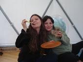 Despedida  de nuestras socias Gabriela y Michele