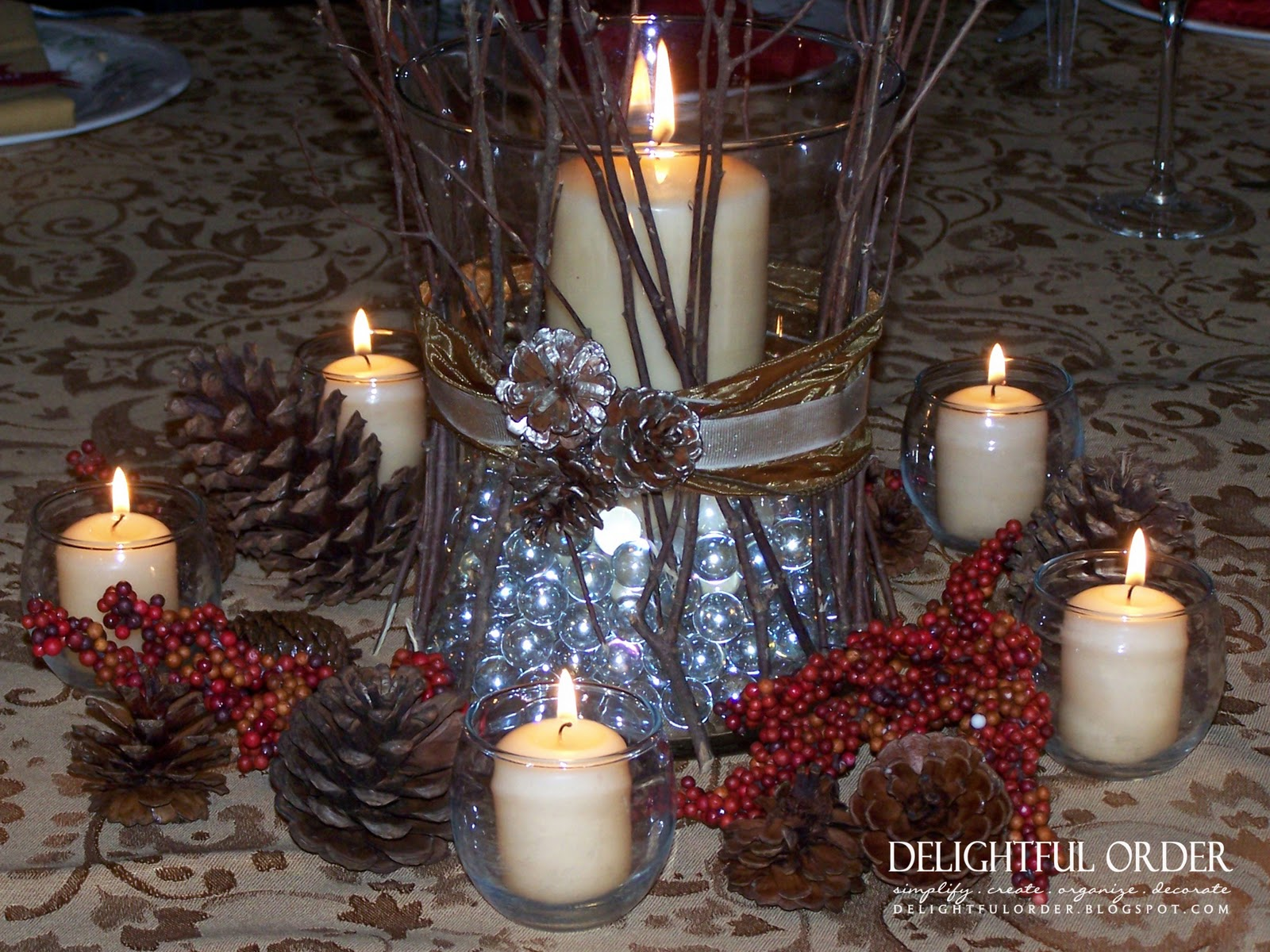 Delightful order thanksgiving table setting ideas