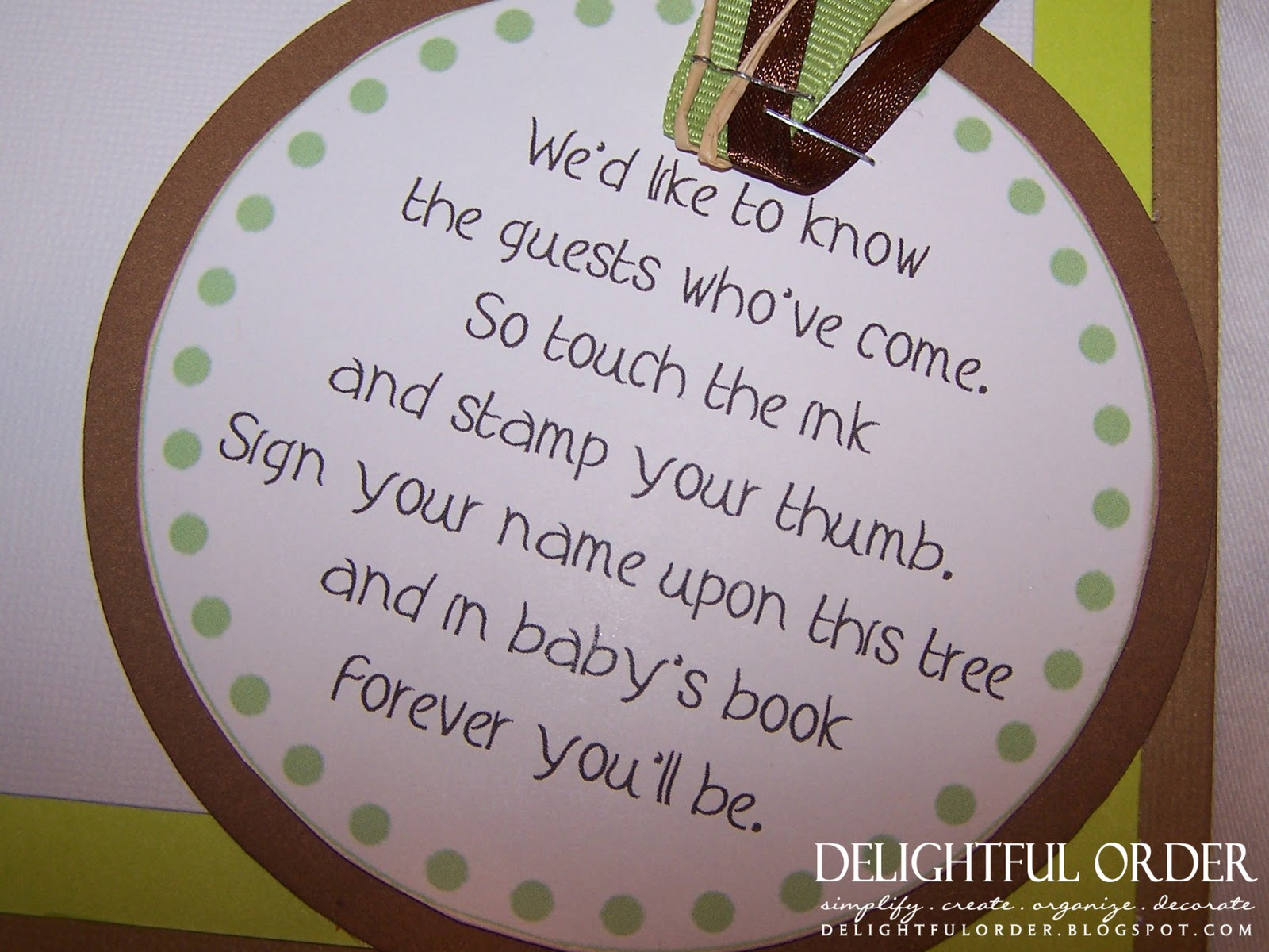 baby shower guest book poem