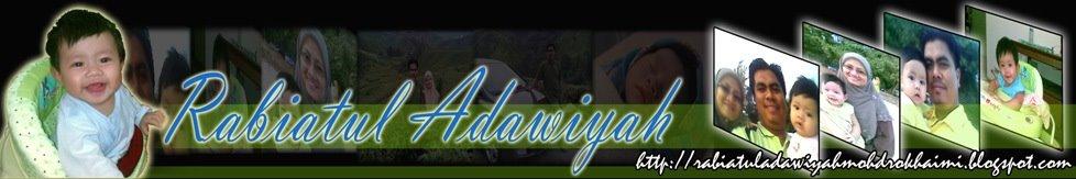 :: Rabiatul Adawiyah Mohd Rokhaimi ::