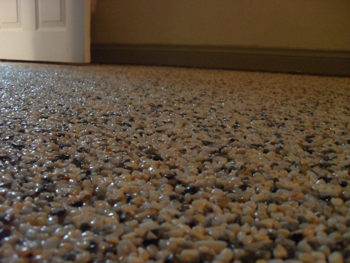Epoxy Pebble Flooring Home Depot