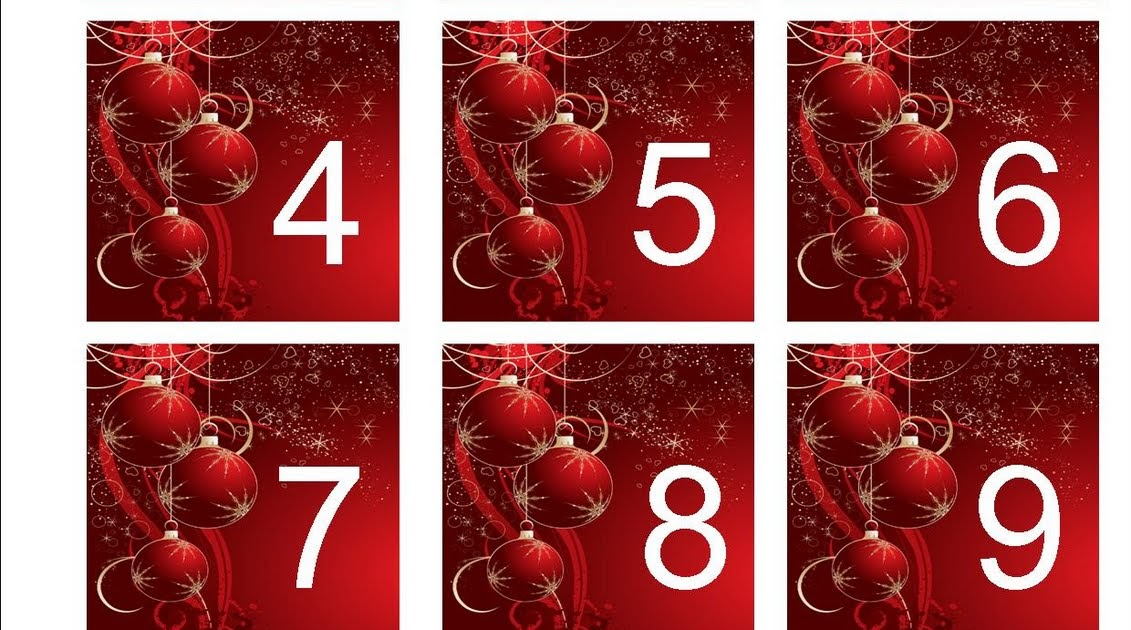 image regarding Free Printable Table Numbers 1 30 referred to as Absolutely free Printable: Xmas Amount Sequencing