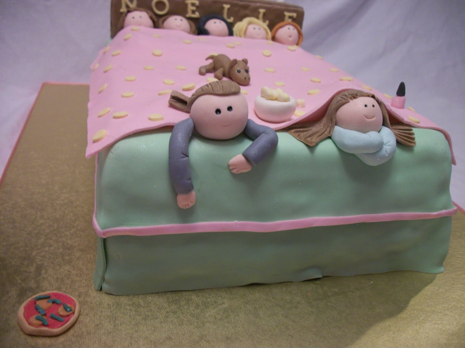Candy And Cake Sleepover Cake