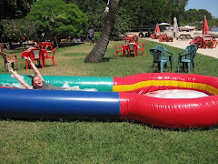 Slip and Slide at Tunza