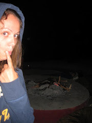 Me Being Creepy at the Camp Fire at Tunza