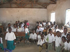 Buswelu Class Using Desks Purchased Last Year
