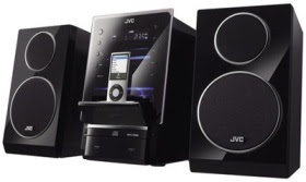 JVC UX-LP5 Hi-Fi with iPod Dock