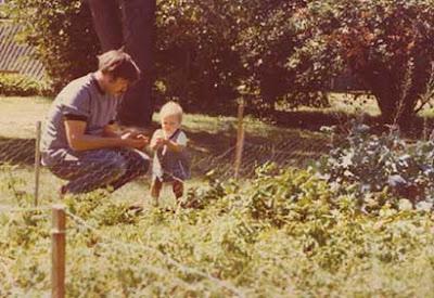 Seventies veg garden, annieinaustin