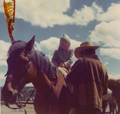 Annieinaustin,horseback at Yellowstone
