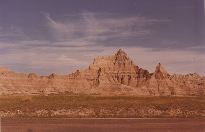 Annieinaustin, Badlands in 1970's
