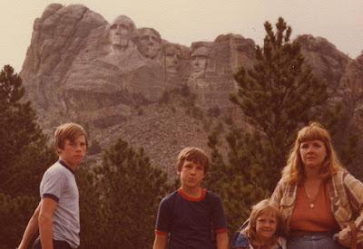 Annieinaustin, Mt Rushmore,1980's