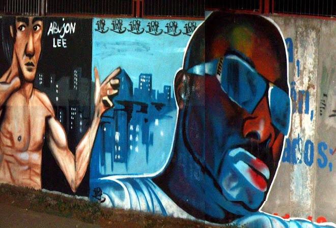 Graffiti en Kuriko/ Autor Abujon