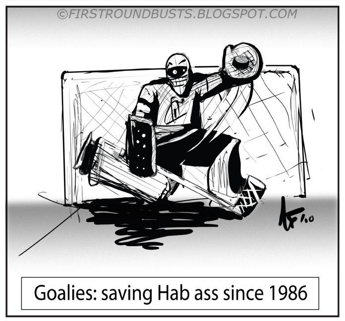 Goalies: saving Hab ass since 86
