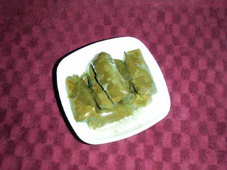 dolmades Stuffed Vine Leaves (Dolmades) Recipe