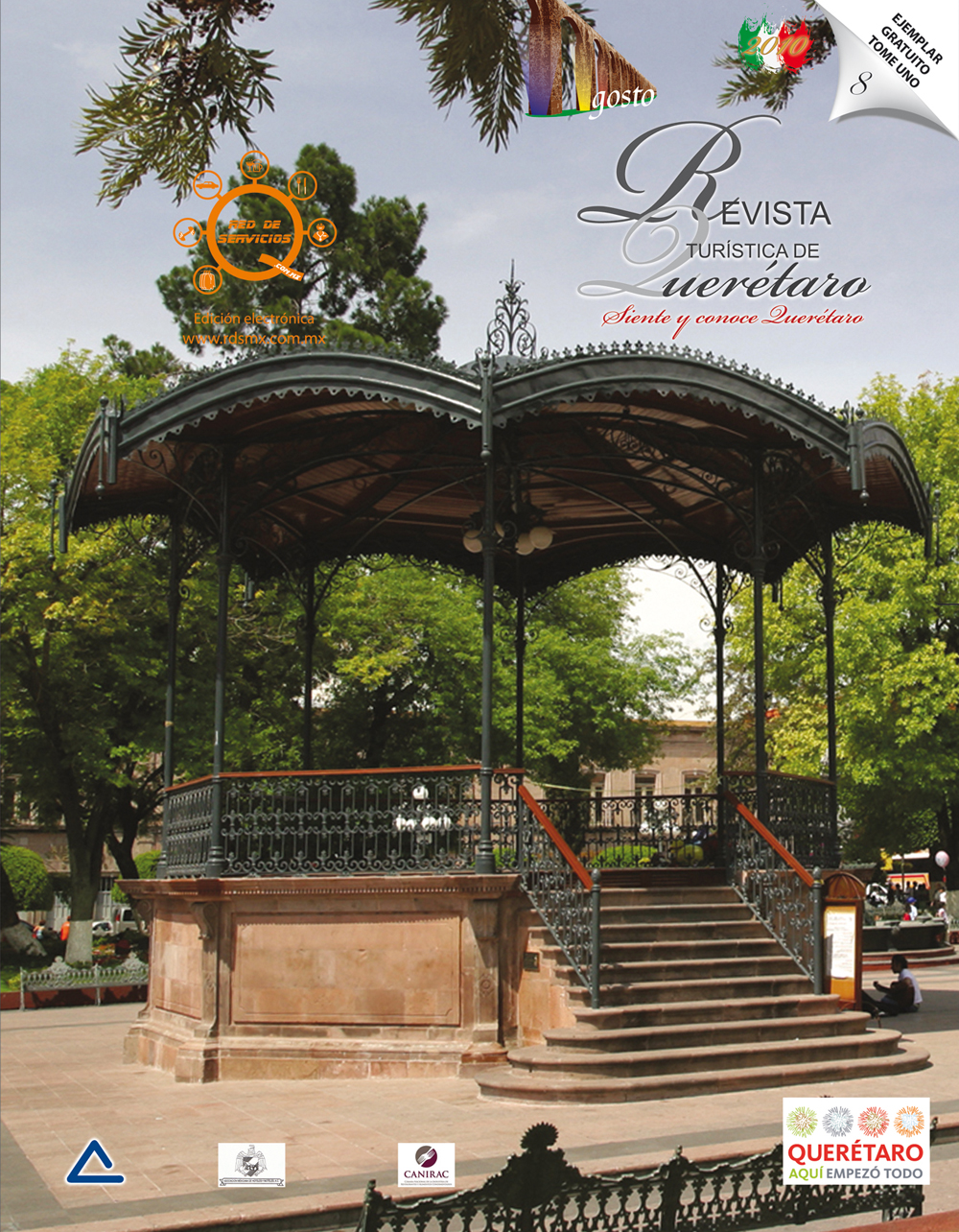 Revista tur stica de quer taro jard n zenea for Jardin zenea queretaro