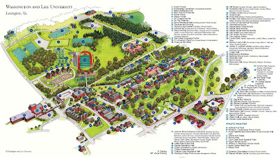 simmons college campus map. washington and lee university: simmons college campus map e